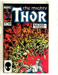Mighty Thor # 344 NM Marvel Comic Book Beta Ray Bill Avengers Loki Hulk Odin GK4