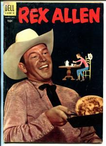 Rex Allen #16 1955-Dell-movie photo cover-western-G