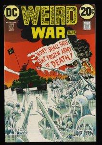 Weird War Tales #9 VF 8.0 Neal Adams Cover!