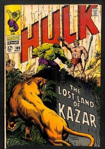 The Incredible Hulk #109 (1968)