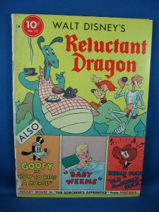 Four Color 13 First Series THE RELUCTANT DRAGON Good- 1941 Scarce