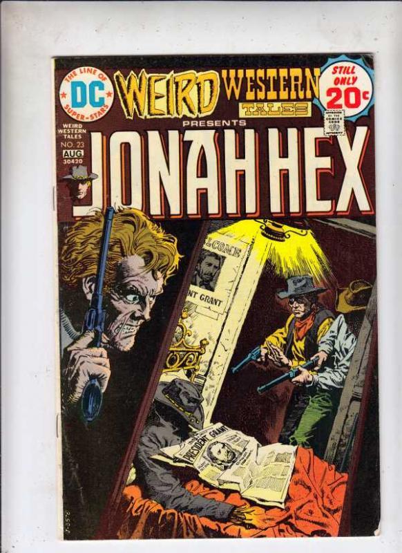 Weird Western Tales #23 (Aug-74) FN Mid-Grade Jonah Hex