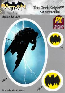 Batman The Dark Knight Highwire & Bat Symbol Car Window Decal - New!