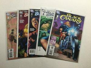 Black Canary 1-4 1 2 3 4 Plus Wedding Planner Lot Run Set Near Mint Nm Dc Comics