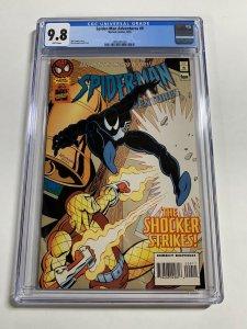 Spider-man Adventures 9 Cgc 9.8 Wp Black Costume Saga Venom Must Have Marvel