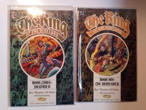 Ring Of The Nibelung 1-4 Complete Near Mint Lot Set Run