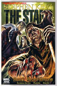 STEPHEN KING - The Stand : SOUL SURVIVORS #5, 2009, NM+, more SK in store
