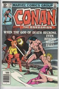 Conan the Barbarian #120 (Mar-81) VF/NM High-Grade Conan the Barbarian