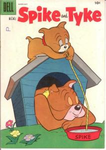 SPIKE & TYKE (MGMs; 1953-1962 DELL) 5 FINE COMICS BOOK