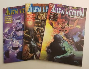 Alien Legion Heavy Hitters One Planet At A Time Complete Set #1-3 NM Epic Comics