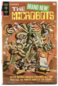 Microbots #1 1971- Gold Key comic G