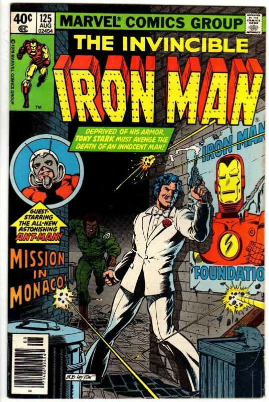 IRON MAN 125 FN   Aug. 1979 ALCOHOL crisis, Ant Man  Av