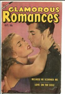 Glamorous Romances #71 1953-Ace-photo cover-spicy pre-code art-emotional- VG