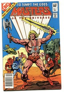 Masters of the Universe #1 1st issue HE-MAN Newsstand DC 1982 VF/NM