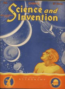 SCIENCE AND INVENTION 02/1929-GERNSBACK-SEVERED DOGS HEAD-DUNNINGER-vf