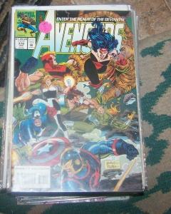Avengers # 370 1994 narvel  eternals deviants serci