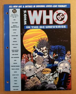 WHO'S WHO IN THE DC UNIVERSE #8 COMPLETE DC COMICS 1991 LOBO