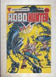 Robo Hunter numero 1: Mi nombre es Sam Slade (numerado 1 en trasera)