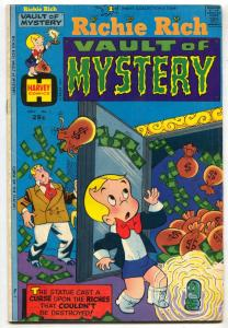 Richie Rich Vault of Mystery #1 1974- Harvey VG+