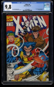 X-Men (1991) #4 CGC NM/M 9.8 White Pages 1st Omega Red!