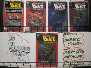 SHADOW OF THE BAT (1992) 1 (BOTH), 2-5  Arkham story ar