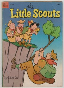 THE LITTLE SCOUTS / DELL FOUR COLOR #550 VG 1954