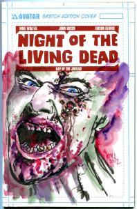NIGHT of the LIVING DEAD, NM, Original Art by Ken Meyer, Avatar, 2012, NotLD