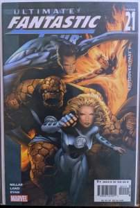Ultimate Fantastic Four #21 (2005) ZOMBIES!