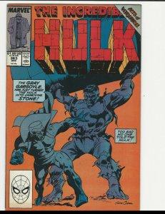 Incredible Hulk #363 (Marvel 1989) vs Grey Gargoyle - Gene Colan Cover Art