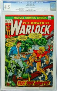 WARLOCK #6 ~ 1973 Marvel ~ CGC 4.5 VG+ ~ Counter Reed Richard Becomes Brute