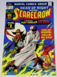 Dead of Night #11 (VF) 1st Appearance of SCARECROW Marvel Comics ID#75Q