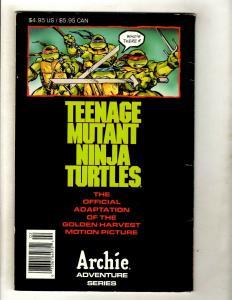 Teenage Mutant Ninja Turtles The Movie Archie Comic Book FN/VF Leonardo SM8