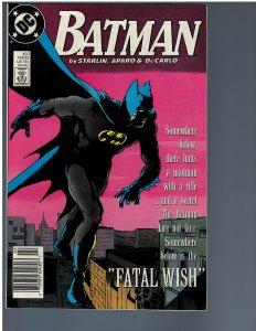 Batman #430 (1989)