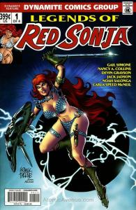 Legends of Red Sonja (Vol. 1) #1A VF; Dynamite | save on shipping - details insi