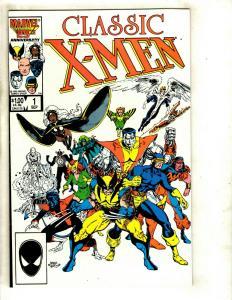 Lot of 14 Classic X-Men Comic Books #1 2 3 4 5 6 7 8 9 10 11 12 13 14 JF4