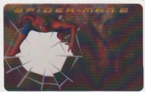 2004 Spider-Man 2 Spider Sense Decoder Card #1