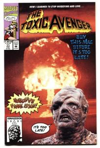 Toxic Avenger #11 last issue 1992 A-Bomb cover NM-