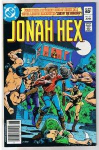 JONAH HEX #61, VF/NM, Lair of Manchus, Dick Ayers, 1977, more JH in store