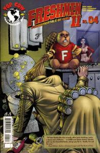 Freshmen (Vol. 2) #4A VF/NM; Image   save on shipping - details inside