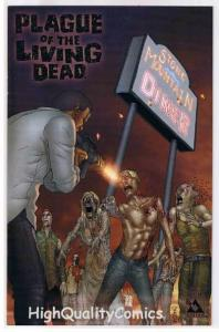 PLAGUE of the LIVING DEAD #1, NM+, Zombies, Horror, 2007, more in store