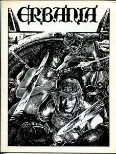 Erbania #56 1987 -Edgar Rice Burroughs-Tarzan-Jim Cawthorn-info-pix- VG