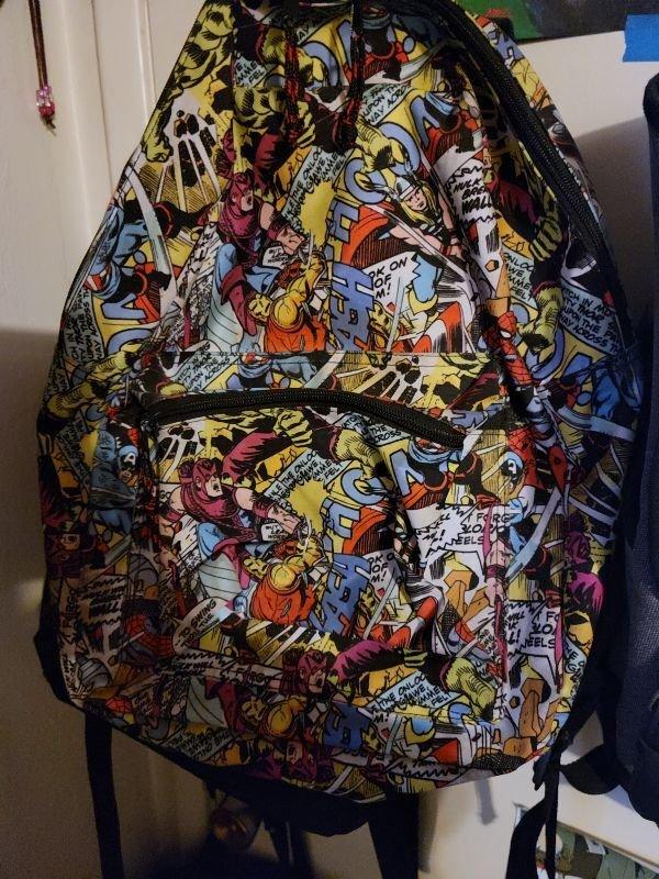 comic backpack