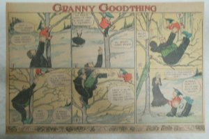 Granny Goodthing Sunday Page by Follett  from ?/1910 Half Full Page Size!