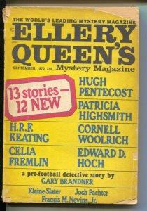 Ellery Queen's Mystery Magazine 9/1978-Cornell Woolrich-Hugh Pentecost-G