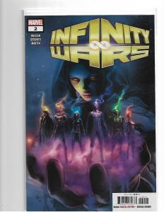 Infinity Wars #2 - NM/NM+ 1:10 Mike Deodato Gamora Unmasked Secret Variant