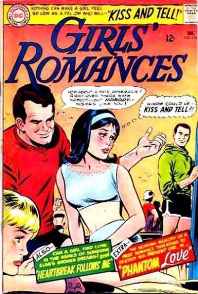 Girls' Romances #114, Fine- (Stock photo)