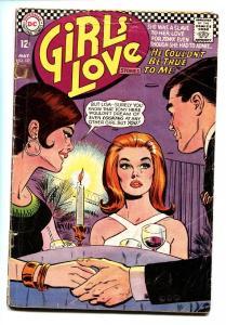 Girls' Love Stories #127 comic book 1967-DC-hard core romance stories