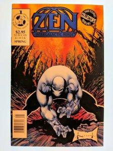 Zen Intergalactic Ninja Earth Day Annual (1993) #1 F Zen