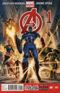 Avengers (5th Series) #1 VF/NM; Marvel | save on shipping - details inside