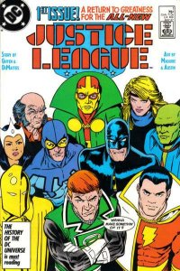 Justice League (1987 series) #1, VF+ (Stock photo)